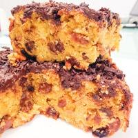 Csokis-mazsolás süti