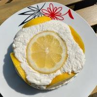 10 perces citromos túrótorta
