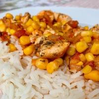 Mexikói csirkemell jázmin rizzsel