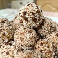 Citromos-banános zabgolyó csokidarabokkal