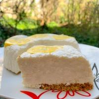 Joghurtos citromtorta – sütés nélkül